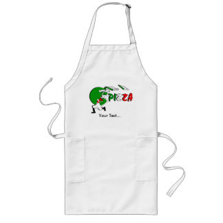 Pizzaiolo and Pizza-Take Away. Long Apron