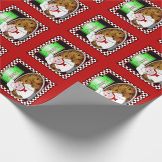 Pizzaria-Gift Wrapping Paper