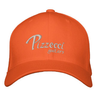Pizzecci, guitars baseball cap