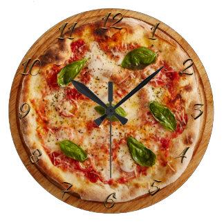 Pizzeria Large Clock