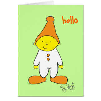 PJ Kaye 04 Greeting Card