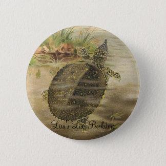 PJ Smith - Soft-Shelled River Tortoise 2 Inch Round Button