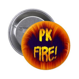 PK FIRE! 2 INCH ROUND BUTTON
