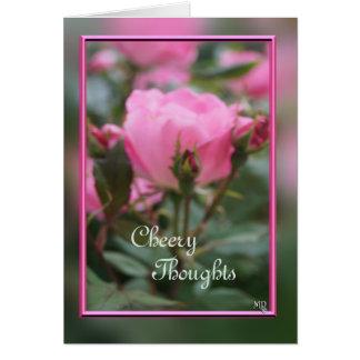 Pk KO Rose & buds 2- customize any occasion Card