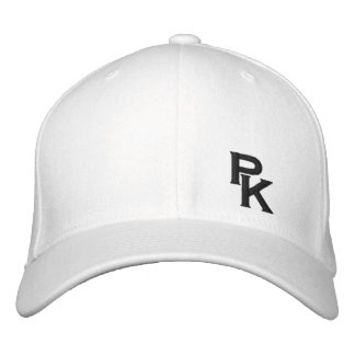 PK (lower left) Embroidered Hat