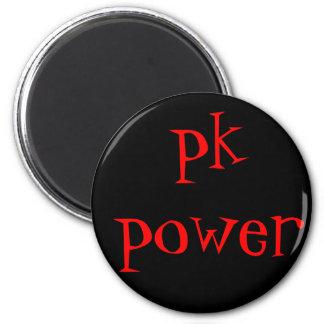 pk power fridge magnet