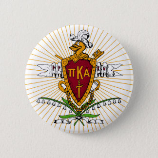 PKA Crest Color Weathered 2 Inch Round Button