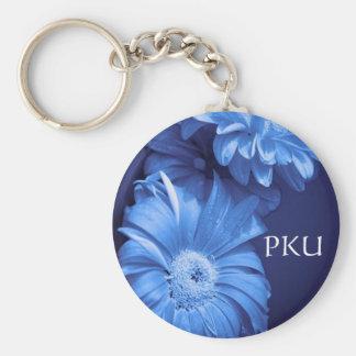 PKU Flower key chain