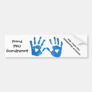 PKU Grandparent Bumper Sticker