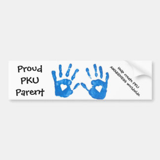 PKU Parent Bumper Sticker