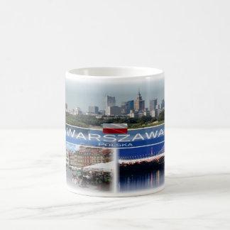 PL Poland Polska - Warszawa Warsaw - Coffee Mug