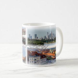PL  Poland - Warsaw Warszawa - Coffee Mug