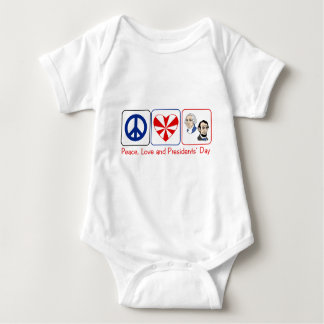 PL Presidents Day Baby Bodysuit