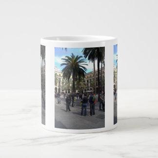 Plaça Reial, Barcelona Large Coffee Mug