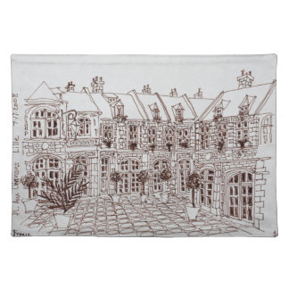 Place Aux Oignons, Old Town | Lille, France Placemat