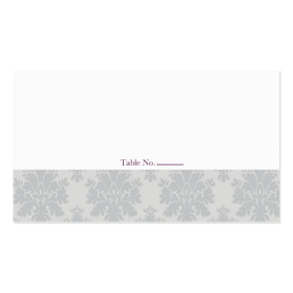 Place Cards // The Plum Bouquet Collection Pack Of Standard Business Cards