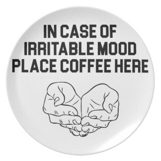 Place Coffee Here Plate