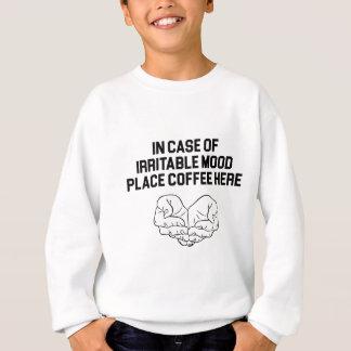 Place Coffee Here Sweatshirt