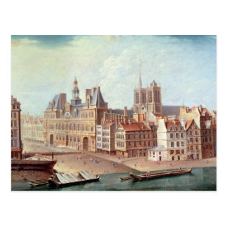 Place de Greve in 1750 Postcard