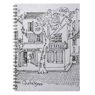 Place des Chataignes | Avignon, France Notebook
