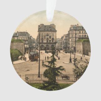 Place des Portes, Brest, France Ornament