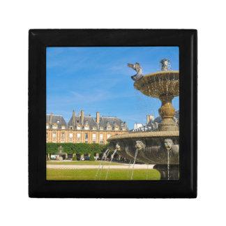 Place des Vosges in Paris, France Trinket Box