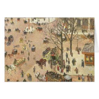 Place du Theatre Francais, 1898 Card