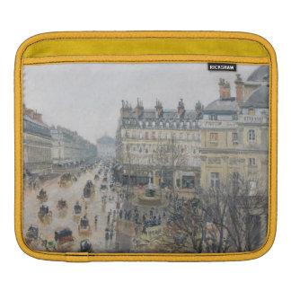 Place du Theatre Francais, Paris: Rain, 1898 iPad Sleeves