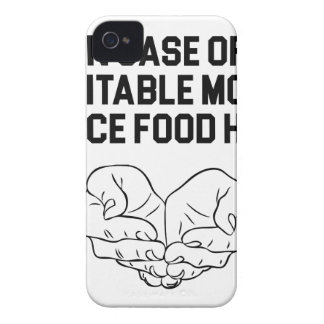 Place Food Here iPhone 4 Cover