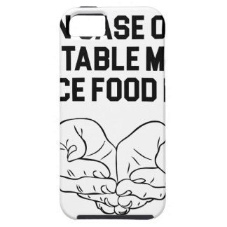 Place Food Here iPhone 5 Case