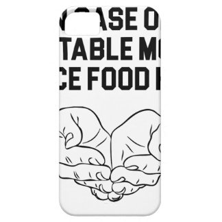Place Food Here iPhone 5 Cover
