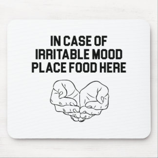 Place Food Here Mouse Pad