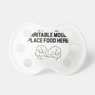 Place Food Here Pacifier