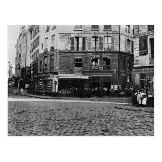 Place Gozlin, Paris c.1865 Postcard