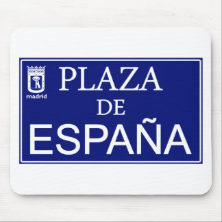 Place of Spain Mouse Pad