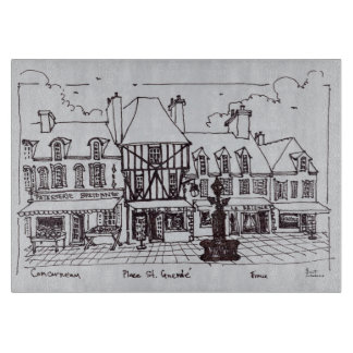 Place Saint-Guenole, Concarneau | Brittany Boards