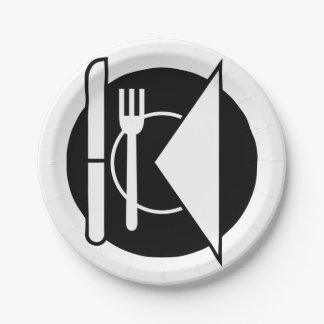 Place Setting Paper Plates