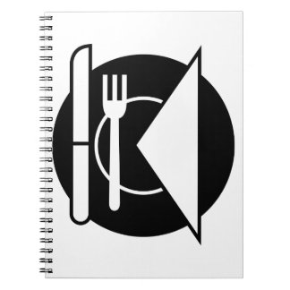 Place Setting Spiral Notebook