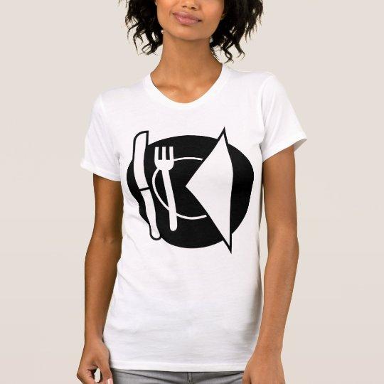 Place Setting Womens T-Shirt