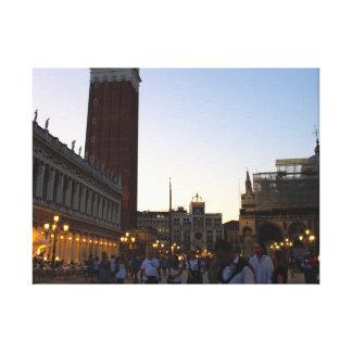 Place St Marc Venise Canvas Print