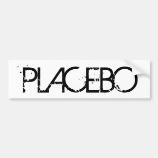 Placebo Bumber Sticker