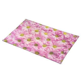 Placemat - Pink Gerbera Daisies