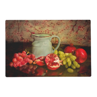 Placemat With Fruits Laminated Place Mat