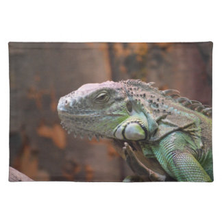 Placemate with colourful Iguana lizard Placemats
