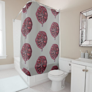 PLACENTA! Shower curtain - birth centre, midwife