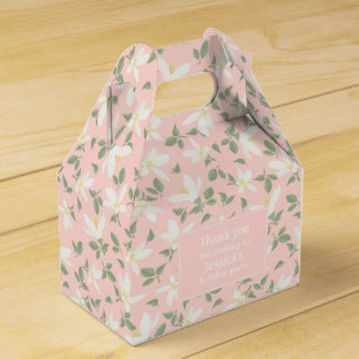 Placer of flowers - Favor Box