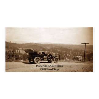 Placerville, California 1908 Road Trip Picture Card