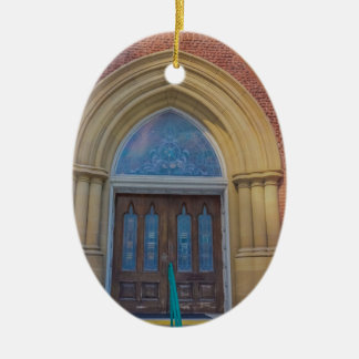 Places Ceramic Oval Ornament