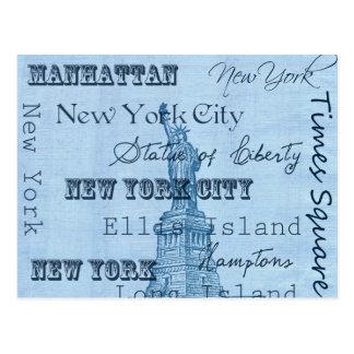 Places New York Postcard