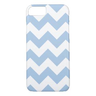 Placid Blue Chevron Zigzag iPhone 7 Case